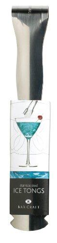Bar Craft Eiswürfelzange, 16 cm, Edelstahl gebürstet